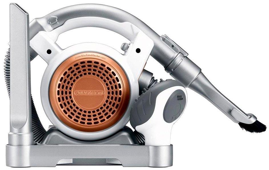 Stanley Black & Decker FHV1200 Cordless Mini Canister Vac back