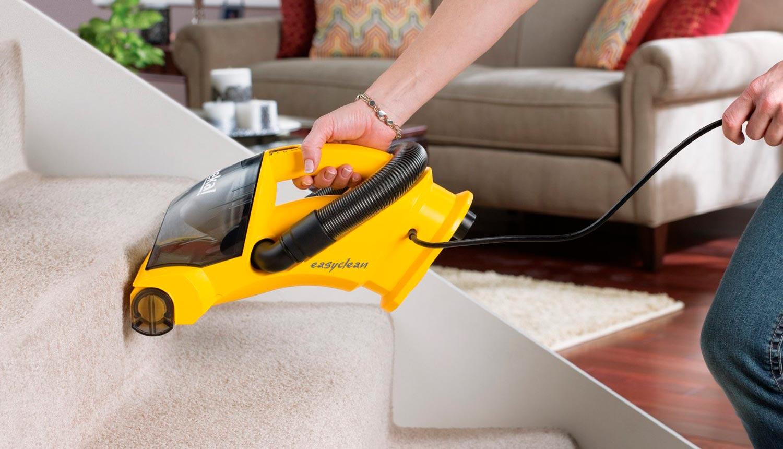 Eureka EasyClean Corded Hand-Held Vacuum 71B stairs