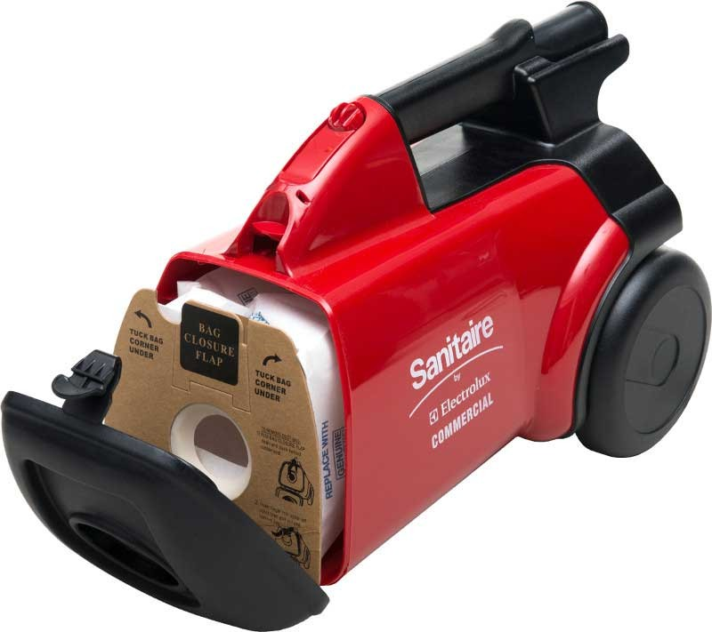Sanitaire SC3683B Commercial Canister Vacuum open