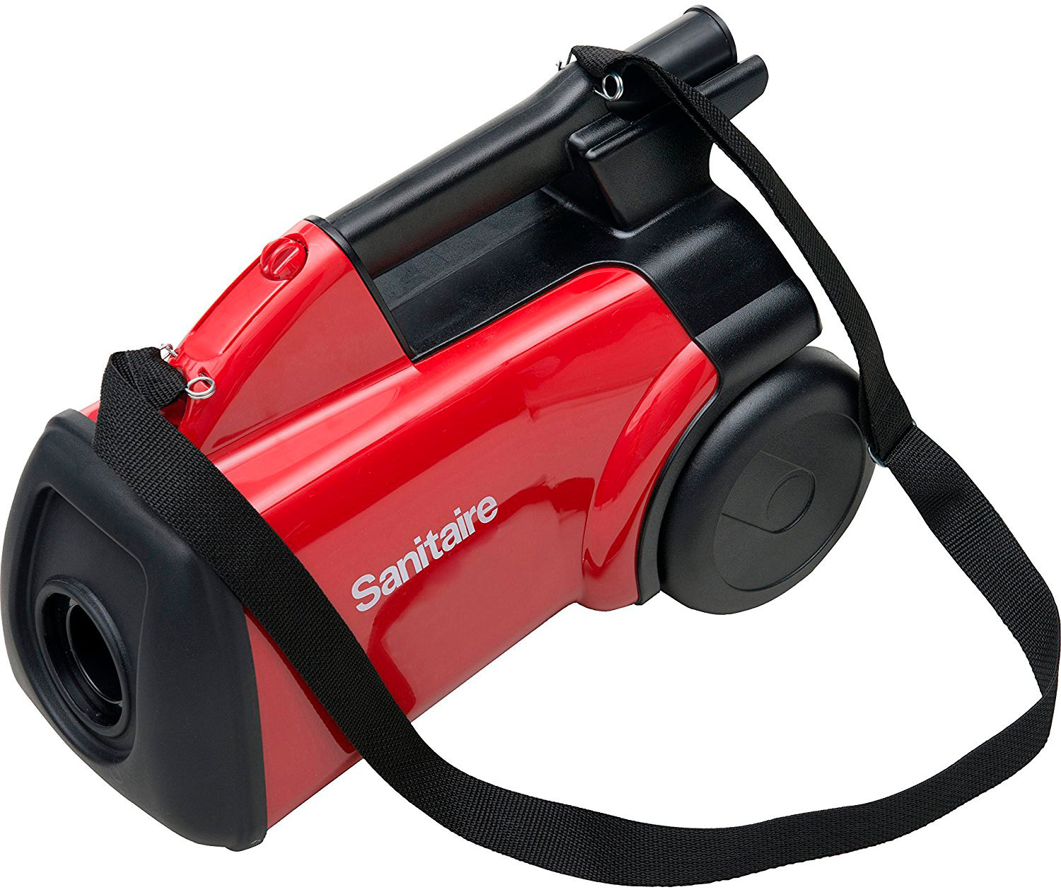 Sanitaire SC3683B Commercial Canister Vacuum with shoulder strap