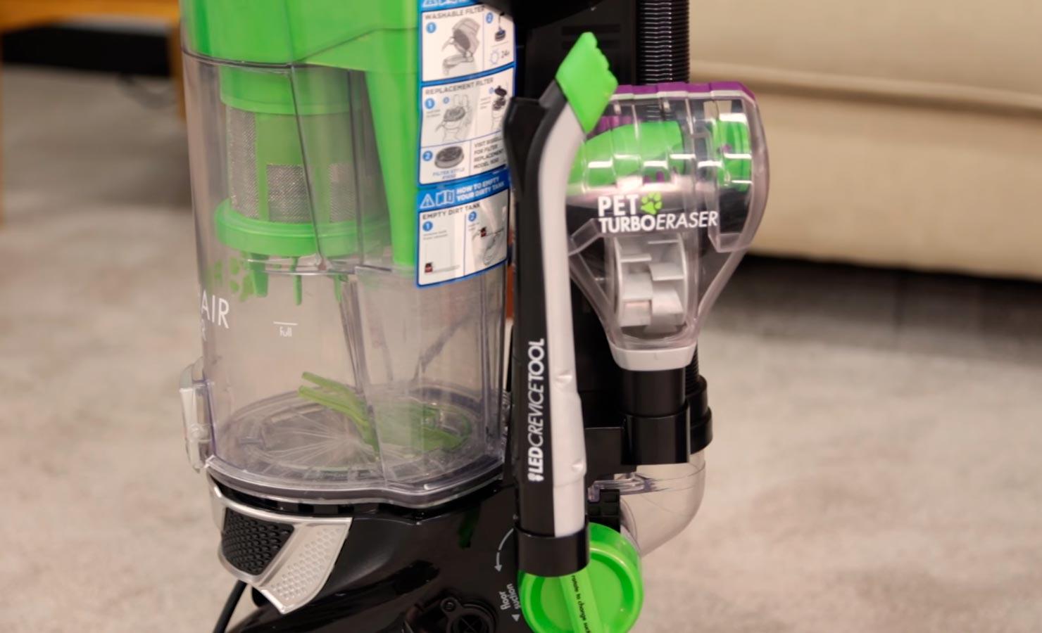 Bissell 1650A Pet Hair Eraser Vacuum tools storage