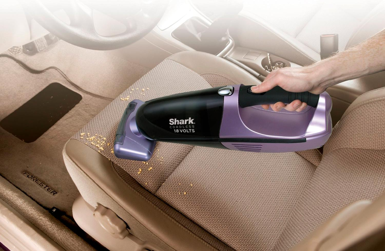 Shark Cordless Pet Perfect II Hand Vac SV780 Motorized Pet Brush for car seat