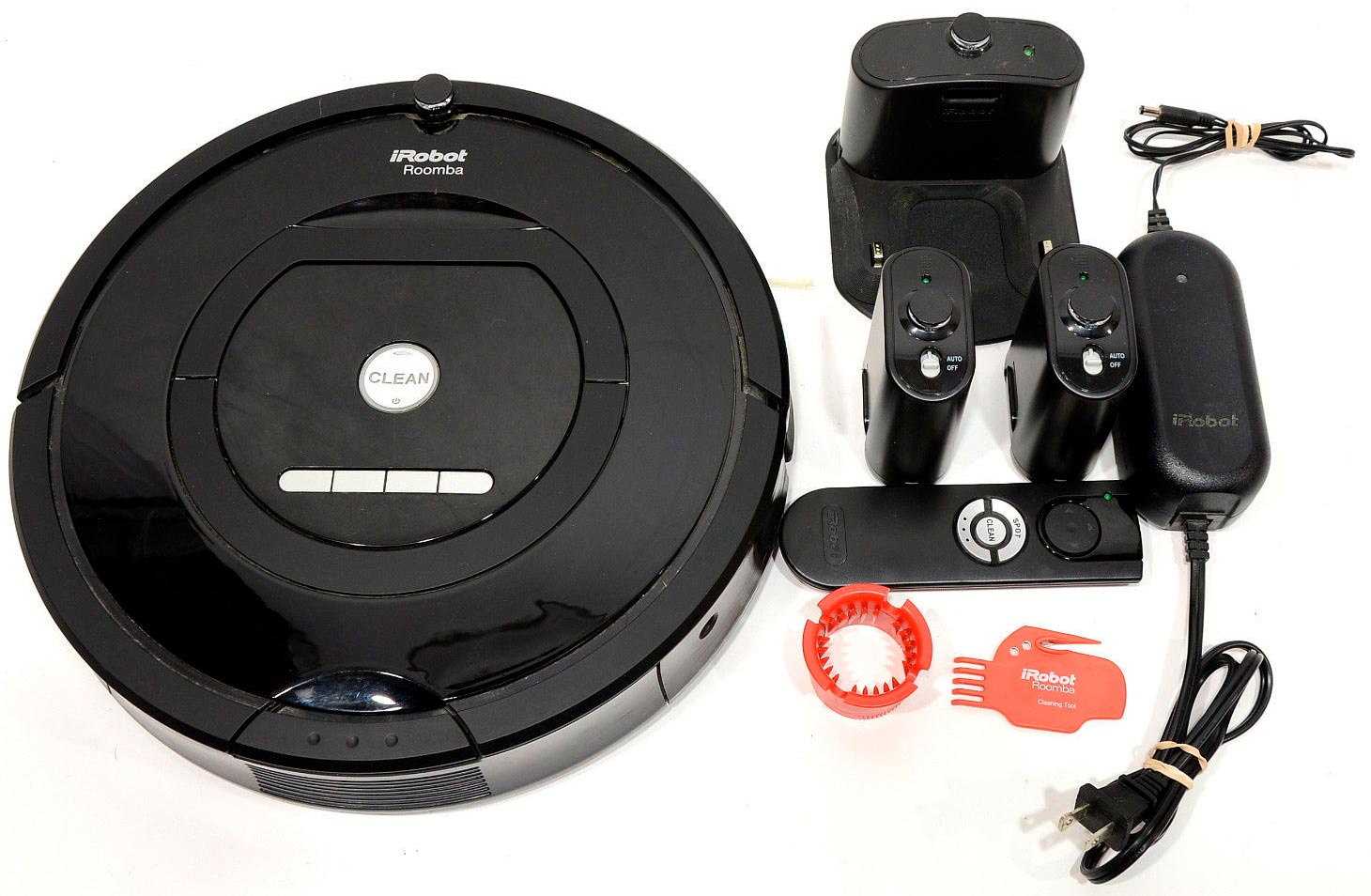 iRobot Roomba 770 Robotic Vacuum Cleaner what is in the box
