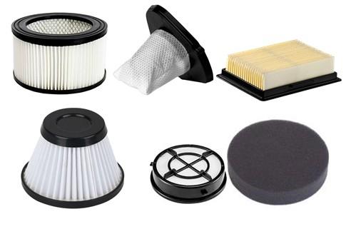 Various vacuum filters