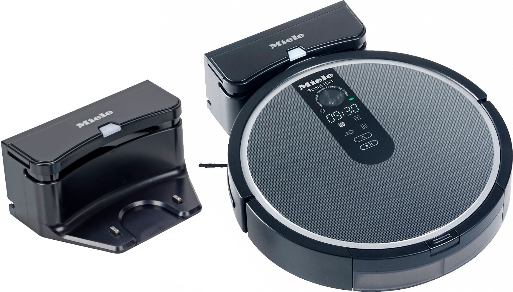 Robotic vacuum cleaner and charging dock