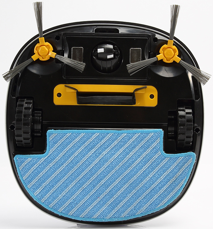 Robotic vacuum cleaner with mop