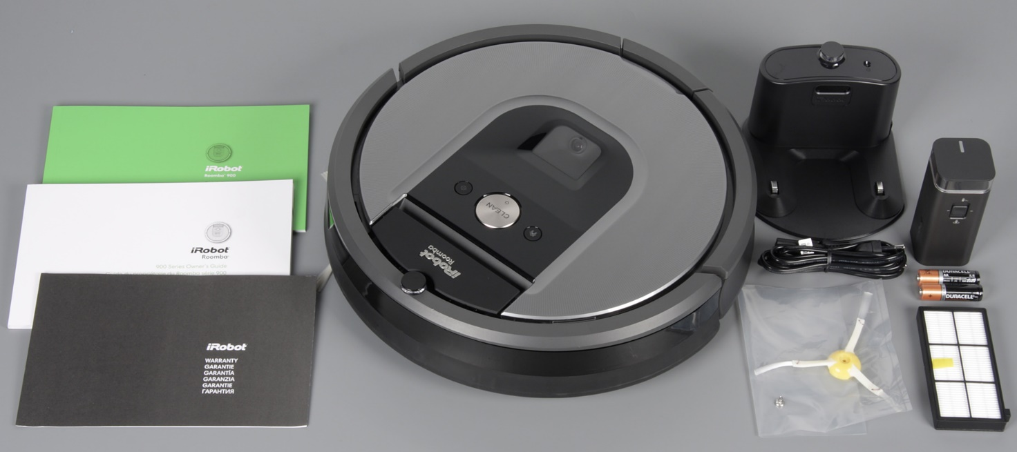 iRobot Roomba 960 what is in the box