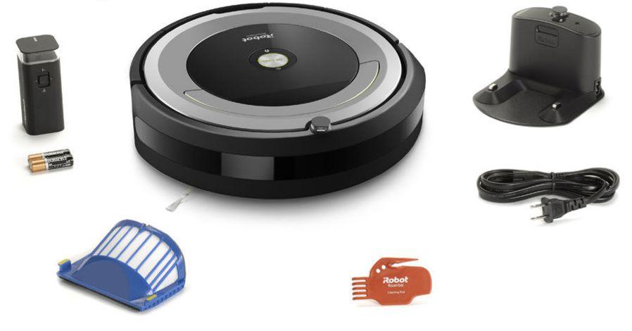 iRobot Roomba 690 box contents