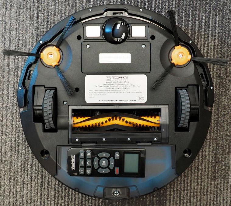Ecovacs Deebot N79 robotic vacuum cleaner bottom