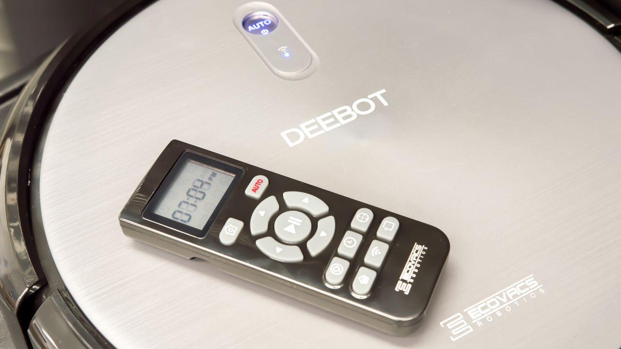 Ecovacs Deebot N79 robotic vacuum cleaner remote control