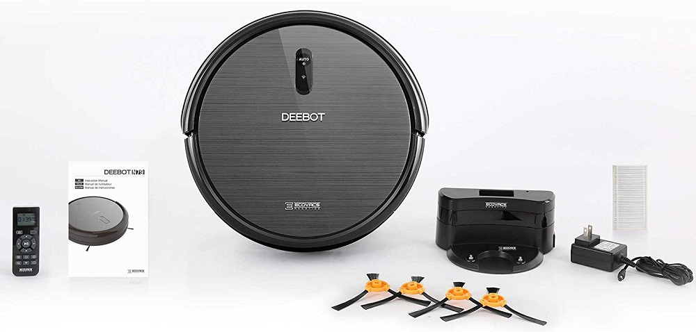 Ecovacs Deebot N79 robotic vacuum cleaner what is in the box