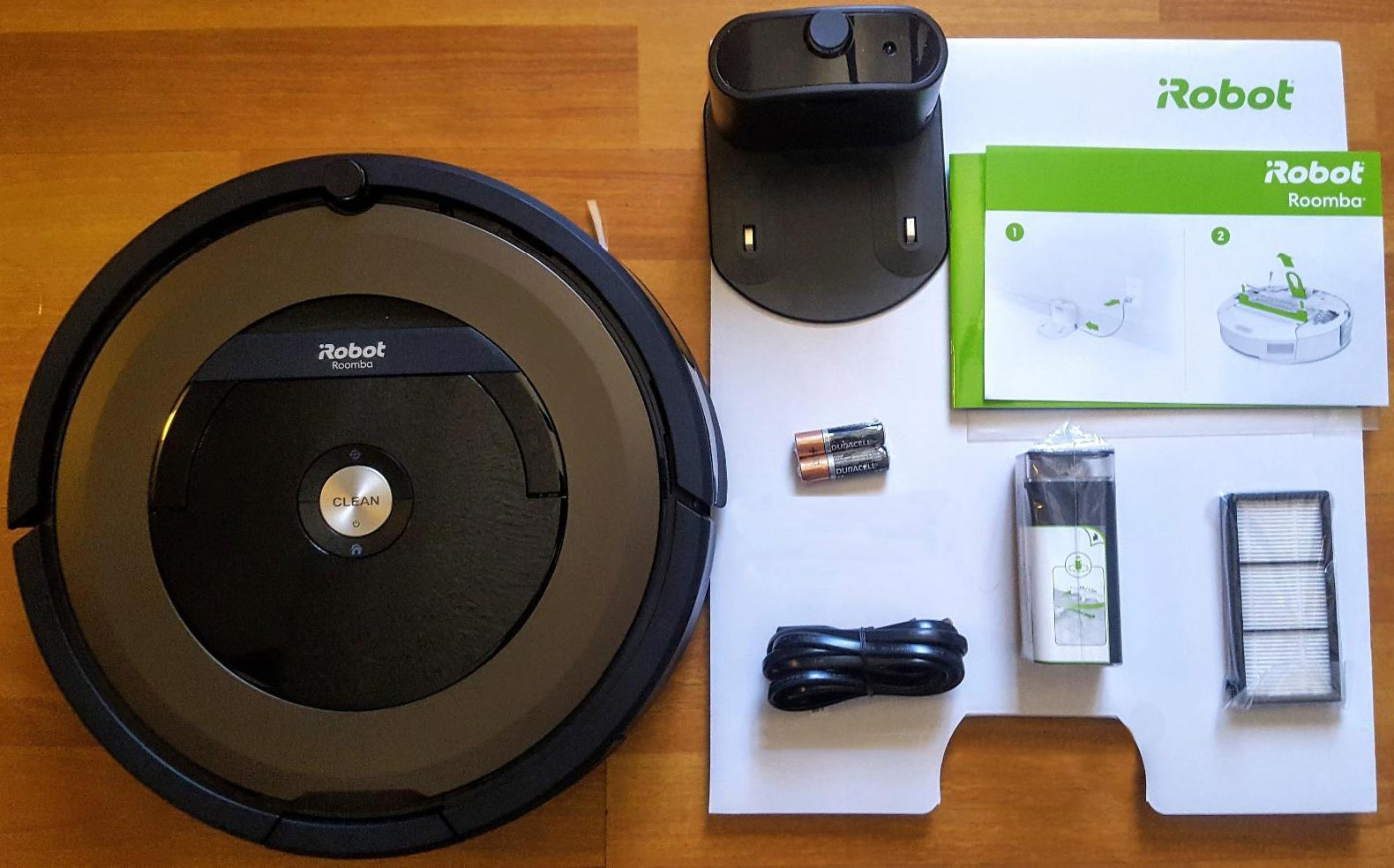 iRobot Roomba 890 what is in the box