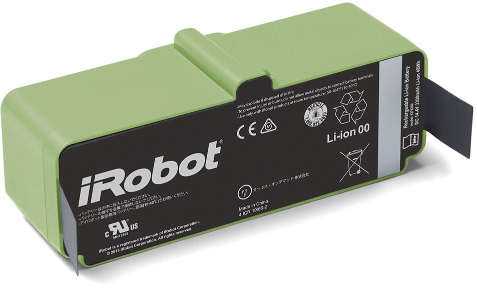 iRobot Roomba Li-ion battery 14.4V 3300 mAh 47.5Wh