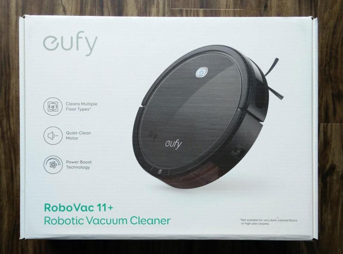 Eufy RoboVac 11+ box